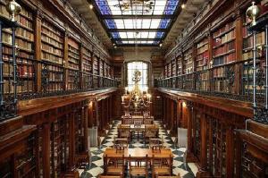 Biblioteca Menendez Pelayo (Santander). / http://lecturasanignacio.blogspot.com.es