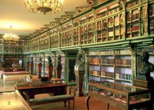 Biblioteca América (Santiago de Compostela). / http://www.ilturista.info