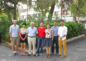Investigadores del del departamento de Óptica de la Universidad de Granada.