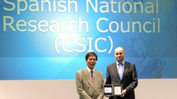 La feria de nanotecnología Nanotech 2015 galardona al CSIC