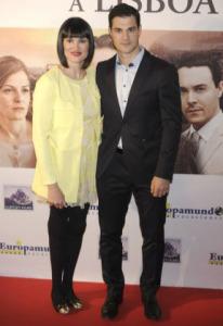 Irene junto a su marido, Juan Pablo Lauro.