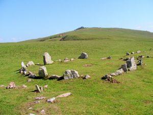 Ejemplo de megalitos en la Bretaña Francesa