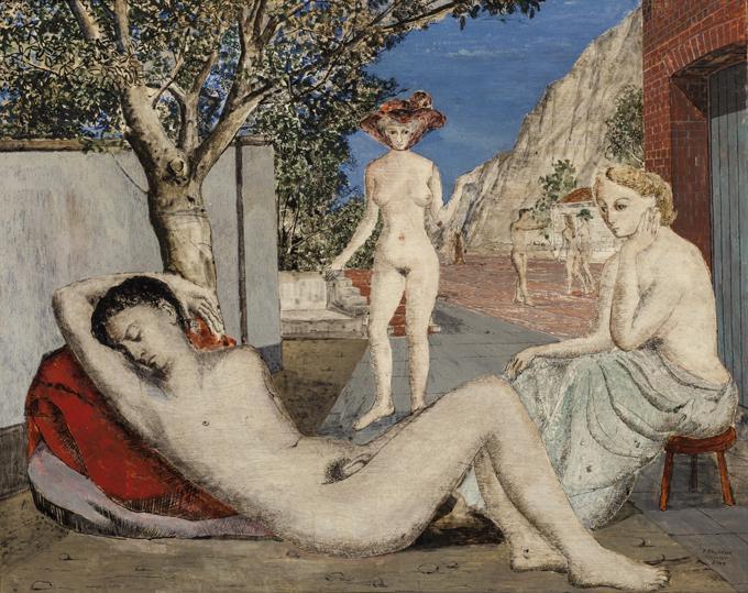 'El sueño', de Paul Delvaux.