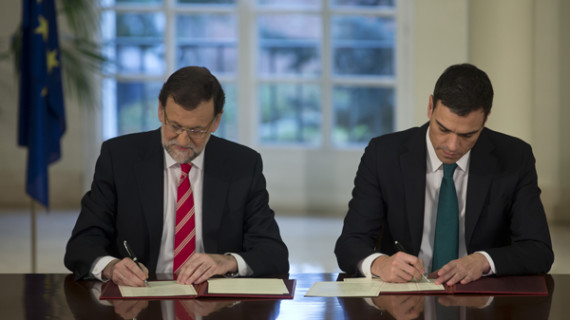 Los partidos políticos unen sus fuerzas en la lucha contra el terrorismo
