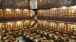 Biblioteca del Ateneo de Madrid. / http://www.españaescultura.es