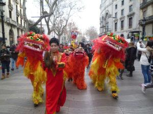 El Año Nuevo Chino en Barcelona. / http://www.jakartaymas.com