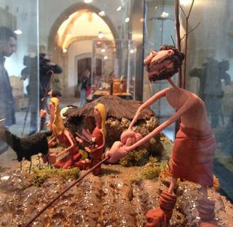 Un recorrido por la historia de la Humanidad a través de figuras de plastilina