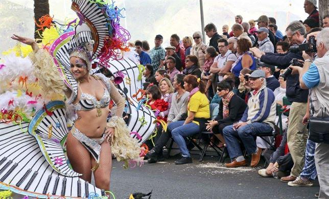 Carnaval de Santa Cruz de Tenerife. / Foto: Jesús D'Sousa