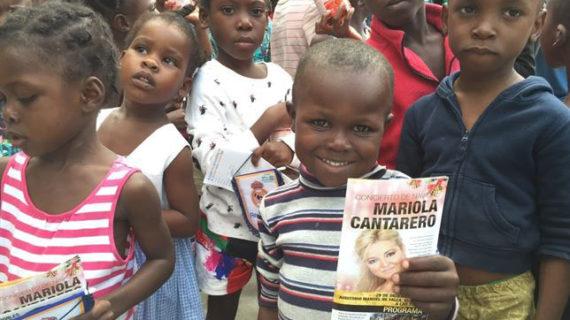 La soprano Mariola Cantarero recauda fondos para la rehabilitación de un orfanato en Haití