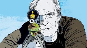 Ilustración de 'El francotirador'.