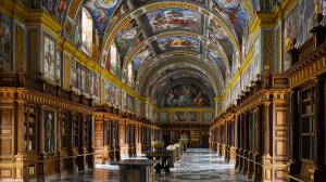 Biblioteca de El Escorial (Madrid). / http://extrangis.blogspot.com.es