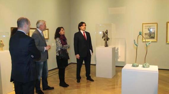 Obras de Dalí, Chillida, Gaudí, Picasso y Miró se instalan en el Palacio de Sástago