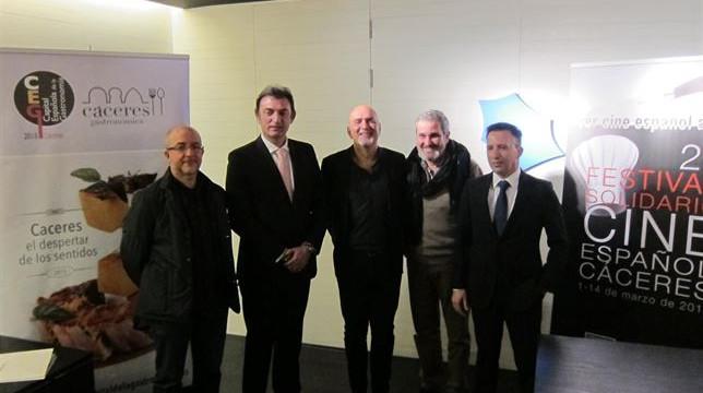 El Festival Solidario de Cine Español de Cáceres incrementa su recaudación