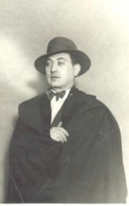 El fundador de la sastrería, Humberto Cornejo.