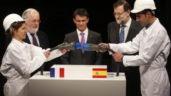 Eléctrica unión entre España y Francia