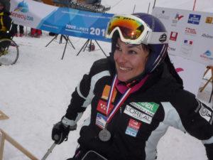 Villa ha logrado varias medallas de oro y plata en esquí.