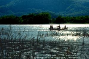 Lago de Banyoles.