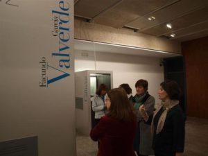 Un instante de la inauguración de la muestra. / Foto: Europa Press.