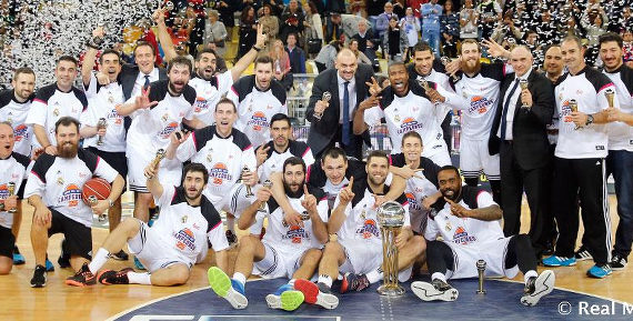 El Real Madrid gana la Copa del Rey de Baloncesto 2015