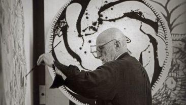 Pierre Alechinsky recibe la Medalla de Oro del Círculo de Bellas Artes