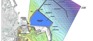 Proyecto de ampliación del puerto de Melilla.