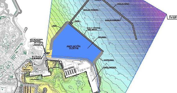 La ampliación del puerto de Melilla generará cerca de 2.500 empleos