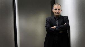 El escritor Miguel Izu.