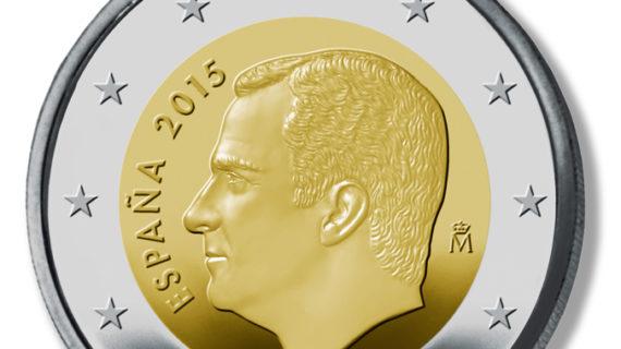 Comienzan a circular las nuevas monedas con la imagen de Felipe VI