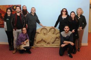 Pieza donada al Museo Tiflológico.