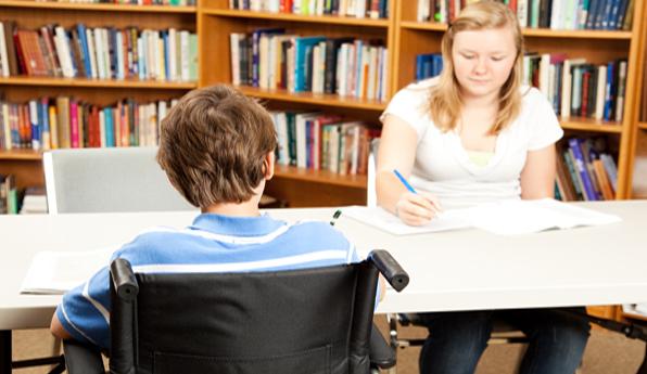 Los estudiantes con discapacidad se beneficiarán de esta medida.