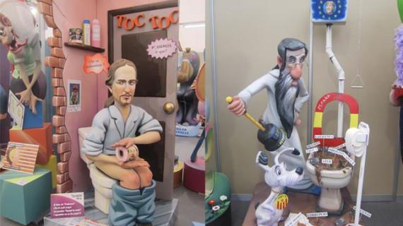 Los políticos y el pequeño Nicolás, en el punto de mira de la sátira fallera de 2015