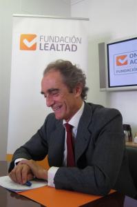 Salvador García-Atance, presidente de la Fundación Lealtad.