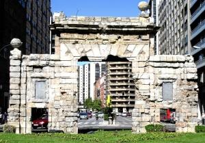 La Puerta del Carmen es la única de las puertas medievales de zaragoza que queda en pie / Foto: Google