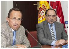 Ignacio de los Ríos y Miguel Ángel Garcimartín.