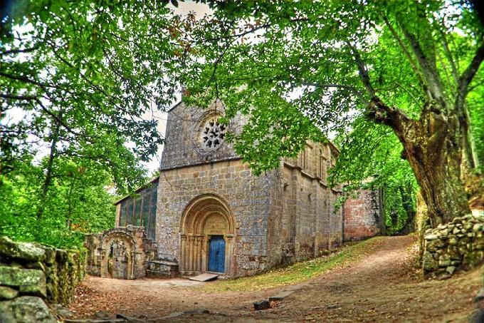 Iglesia de la Ribeira Sacra. /Foto: http://turismo.ribeirasacra.org/rs/es/