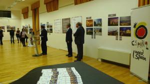 Viena acoge una muestra sobre las 15 ciudades españolas Patrimonio de la Humanidad.