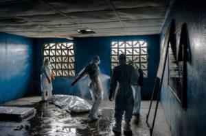 Imagen de Monrovia (Liberia) en agosto de 2014.