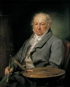 Autorretrato de Francisco de Goya.