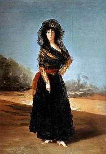 Sí parece claro que fue en Doñana donde pintó a la Duquesa de Alba.