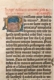Biblia de Gutenberg que ha sido restaurada. / Foto: www.iaph.es