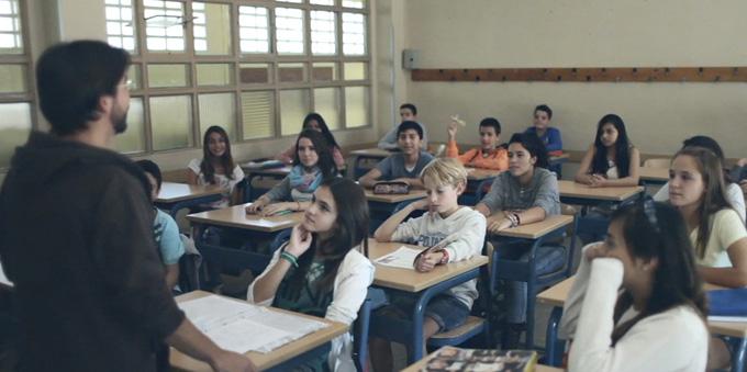 Numerosos escolares participan en este concurso.