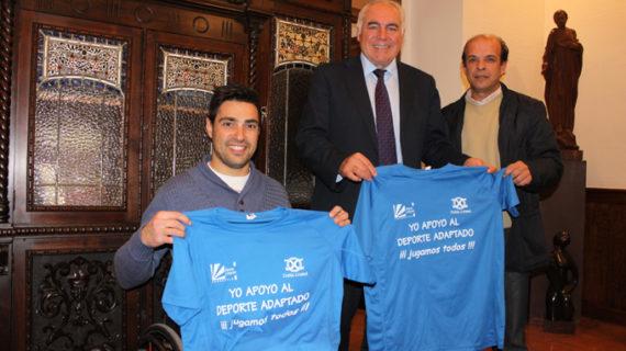 Un convenio promociona el deporte como medio de integración de personas con discapacidad