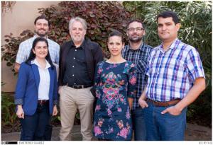 Grupo de investigación de la Universidad de La Laguna.