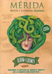 Va a salir ya una segunda edición del álbum de cromos 'Mérida, mitos y leyendas ilustradas'.
