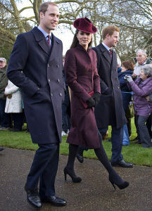 Kate Middleton con uno Mascaró durante unas navidades. / Foto: FICE.