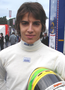El español Merhi Roberto.