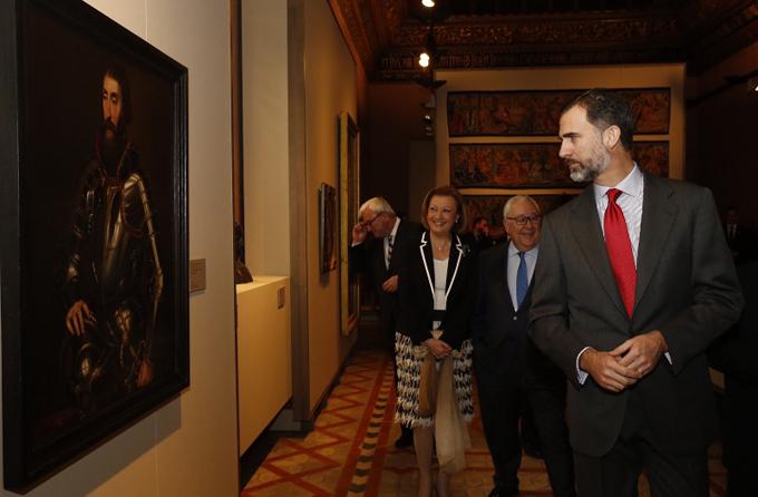 Una exposición permite acercarse al universo del monarca Fernando II de Aragón