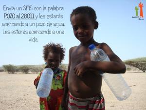 Una imagen de la campaña de la ONG.