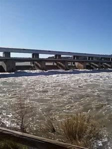 El caudal del río ha quedado estabilizado. / Foto: Europa Press.