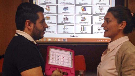 Dos apps ideadas para personas que no pueden expresarse oralmente se comercializarán en España